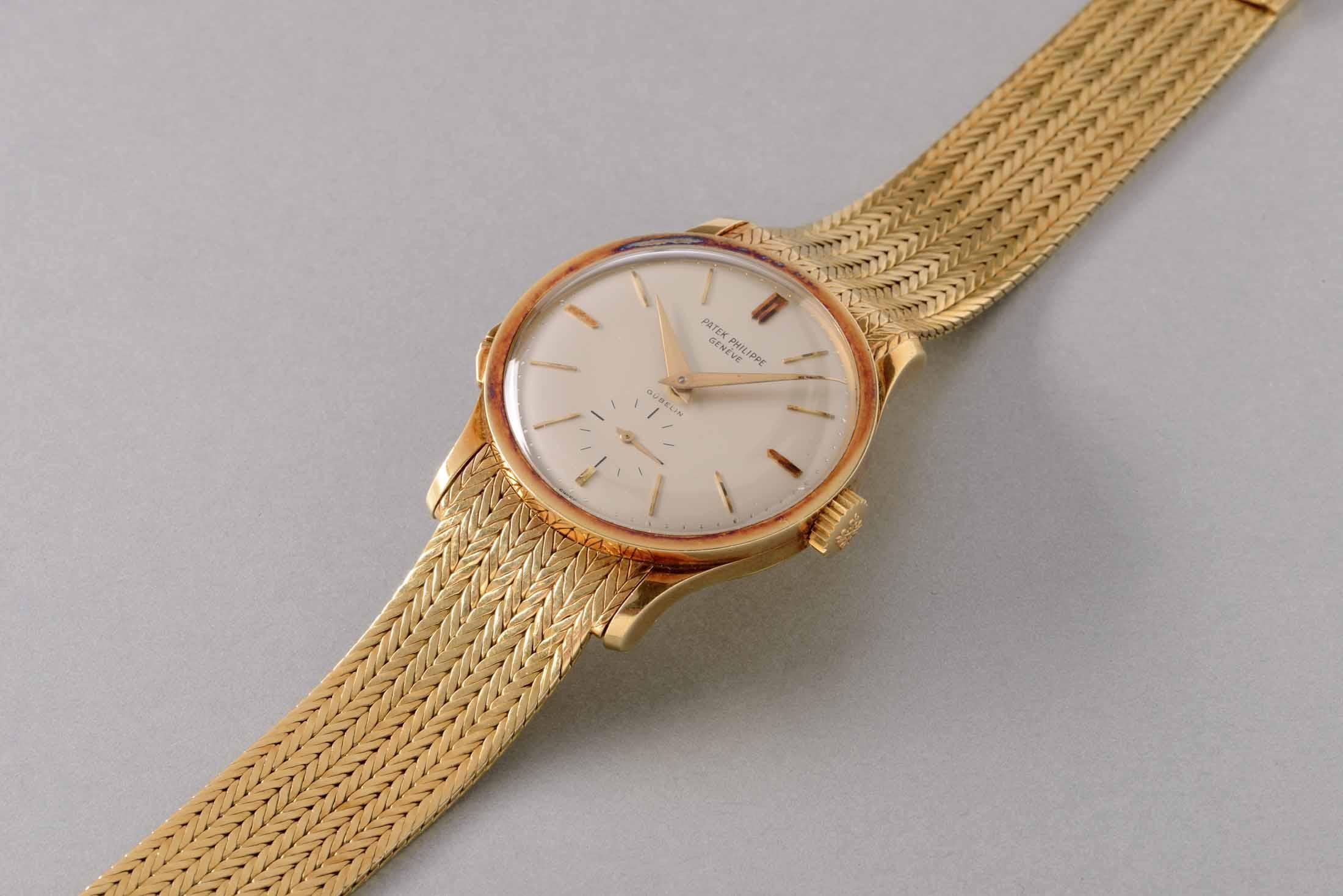 Patek Philippe Yellow-Gold Wristwatch via Gübelin