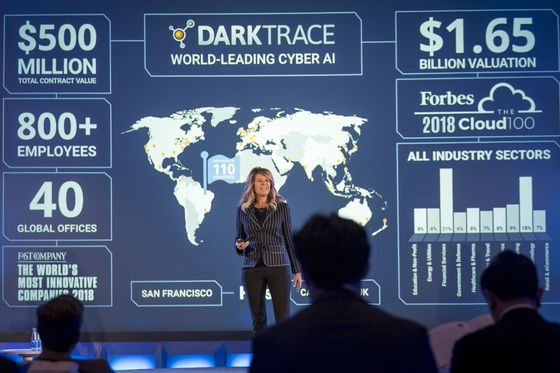 Darktrace Targets Valuation of Up to $2.6 Billion in London IPO