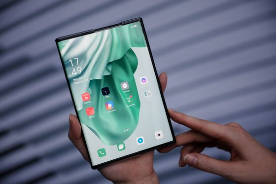 Flexible Phone Screens That Roll and Fold Are Liberating Boring Design