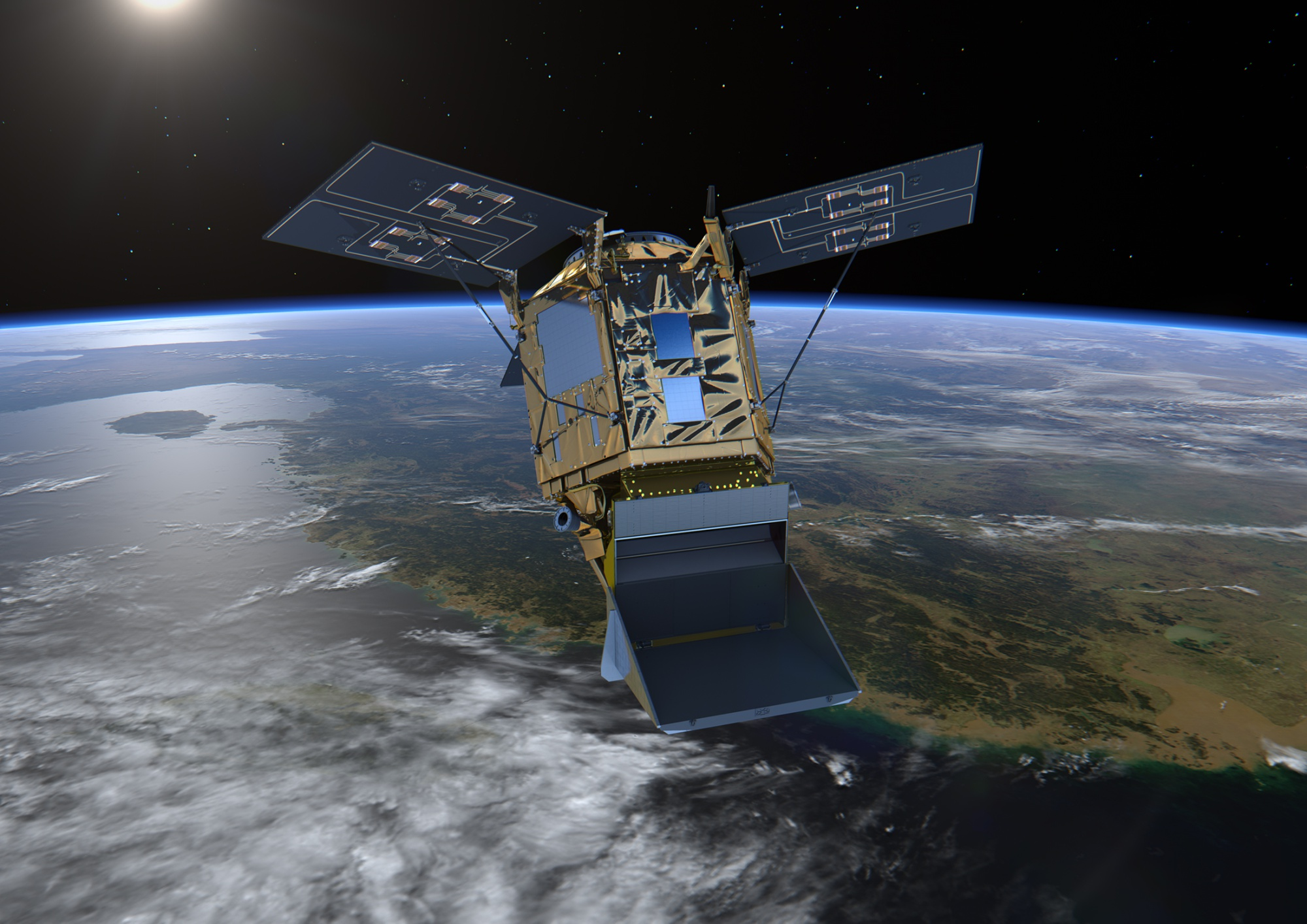 European Space Agency's Copernicus Sentinel-5 Precursor satellite.