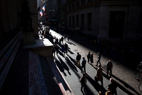 Trading On The Floor Of The NYSE While U.S. Stocks Rise On Deal Activity As Election Looms