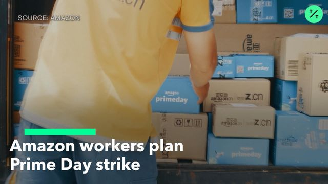 Amazon Workers Plan Prime Day Strike at Minnesota Warehouse