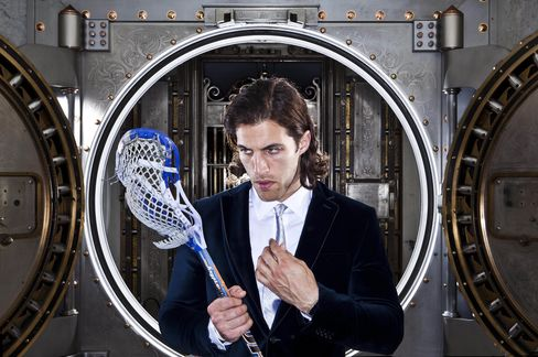 Lacrosse Player Paul Rabil