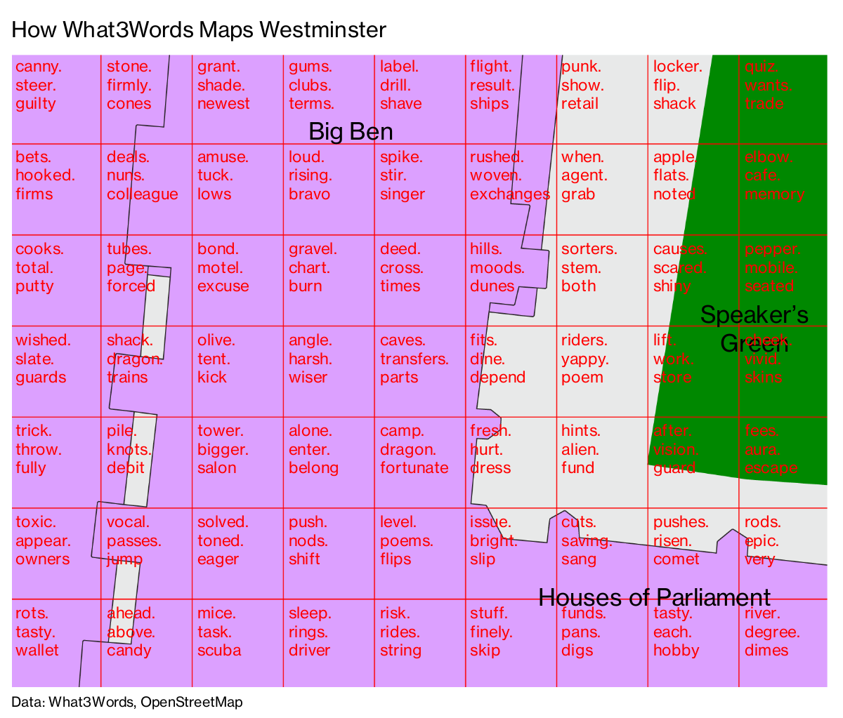 This Startup Slices the World Into 57 Trillion Squares - Bloomberg