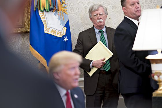 Trump Rebuts Aide Bolton, Says Libya Isn't a Model for Kim Talks