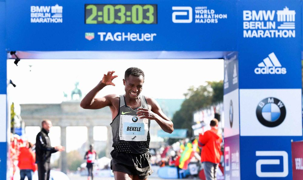 Berlin Marathon under 2 hours