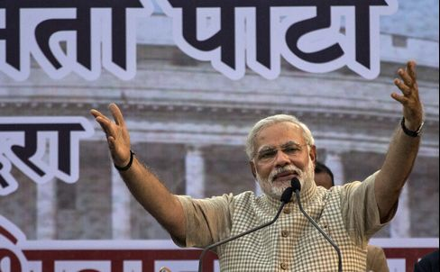 India Prime Minister Designate Narendra Modi