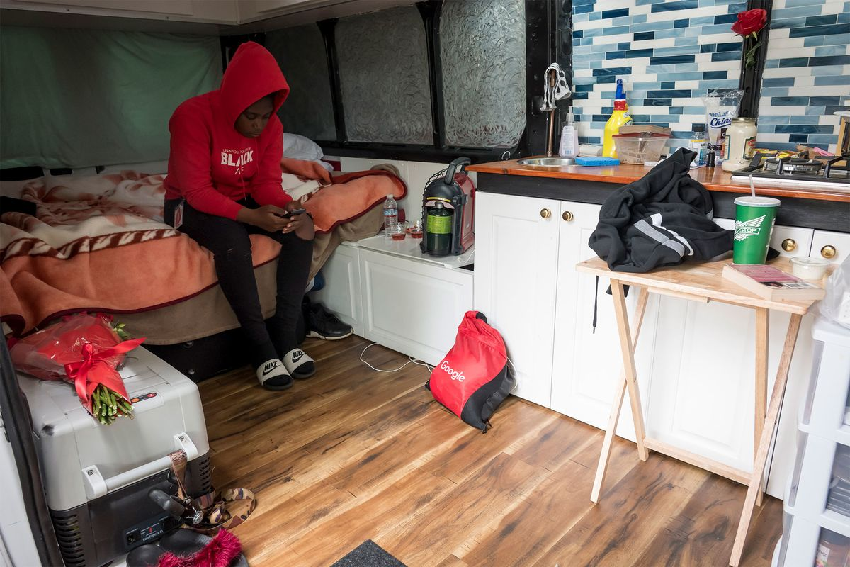 Living In A Van in Google's Backyard? Some Employees Make It Work