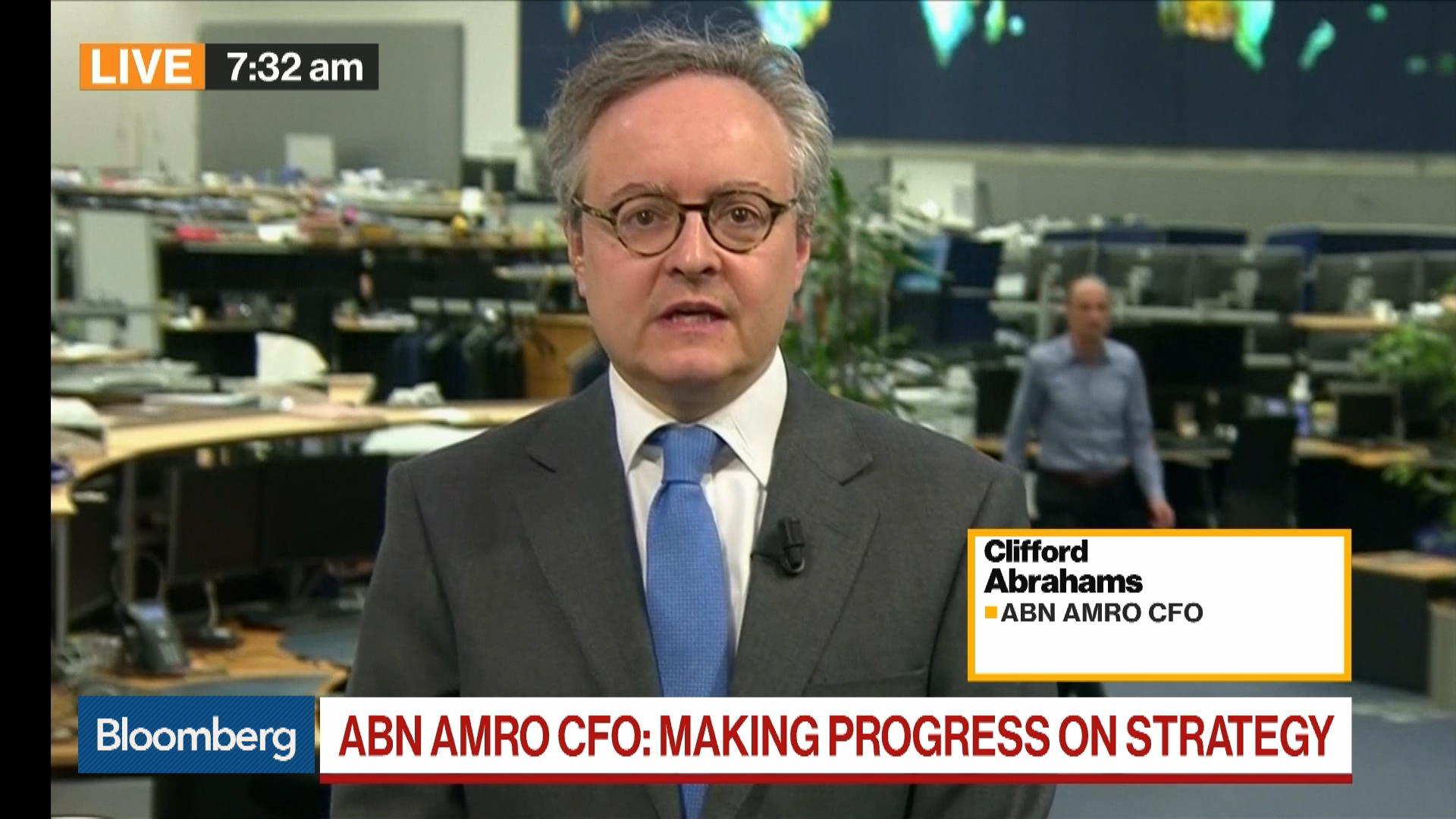 ABN Amro Profits Slump 20%: CFO Abrahams on Outlook