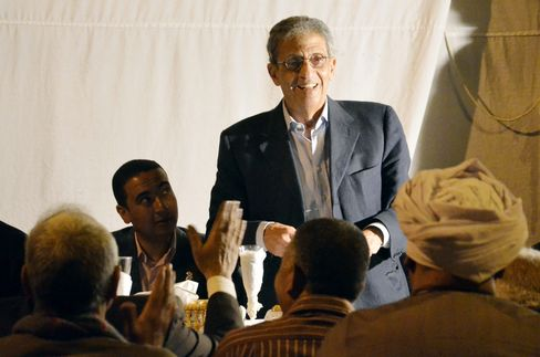 Egyptian Presidential Candidate Amre Moussa