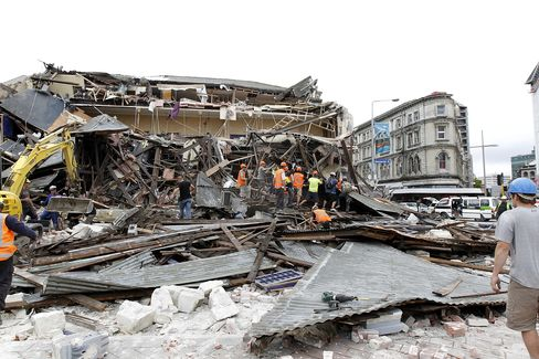 New Zealand's Christchurch Hit by Temblor, Deaths Reported