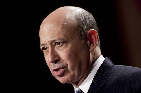 Goldman Sachs Group Chairman and CEO Lloyd C. Blankfein