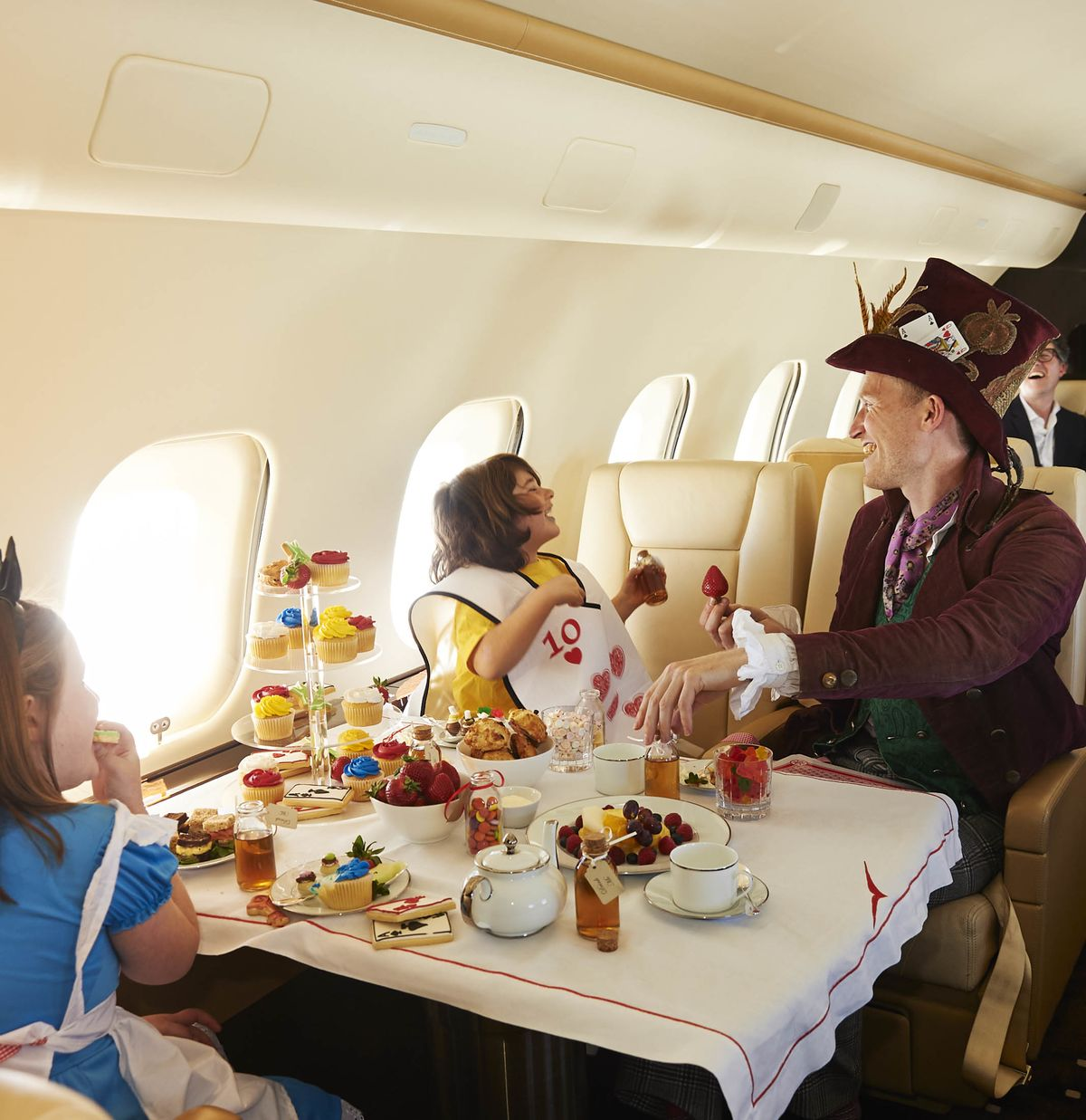 5aa70893 The Latest Private Jet Amenity Is a Theme Party for Your Children ...