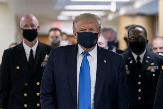 Trump Backtracks on Masks, Calling Them 'Patriotic' After Allies Split