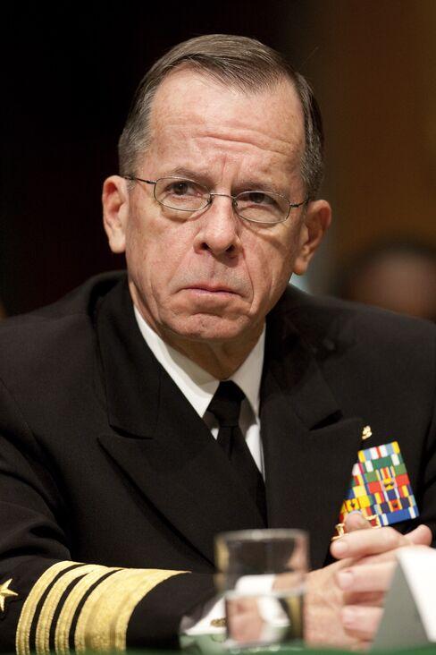 Navy Admiral Michael Mullen