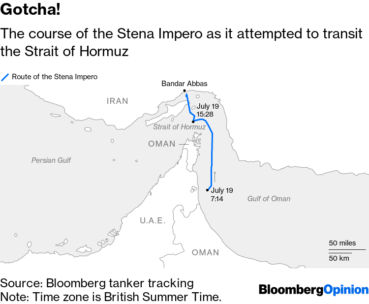 Provoking Iran Over Tanker Can Blow a Hole in Global Oil