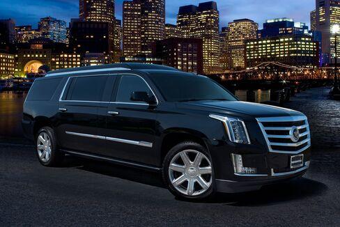 The Cadillac Escalade ESV.
