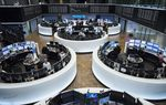 """Trading Inside Frankfurt Stock Exchange On Stock Watchers """"Day From Hell"""""""