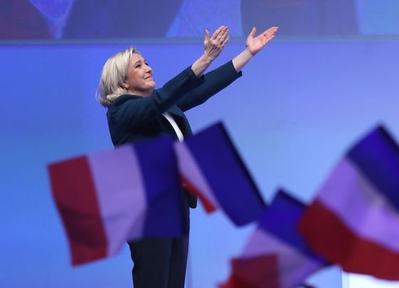 France's Le Pen Starts EU Campaign, Promising a Win for 'Patriots'