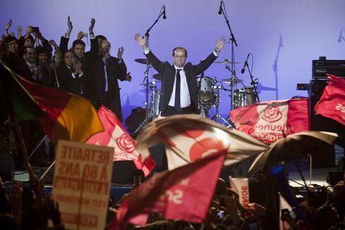 President Elect Francois Hollande