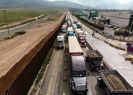 Trump's Border Threats Snarl Truck Traffic
