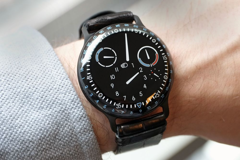 Ressence Type 3 >> Ressence Type 3 Limited Edition A Wild Oil Filled Watch Only For