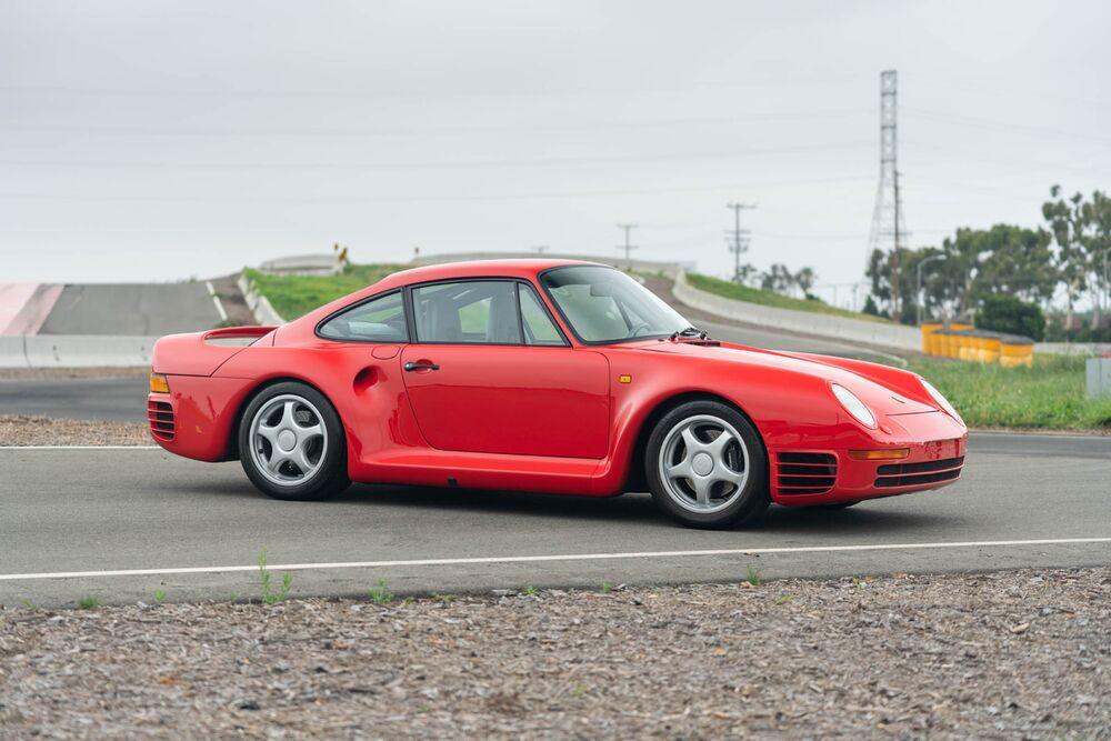 A1988 Porsche 959 Sport Coupe.