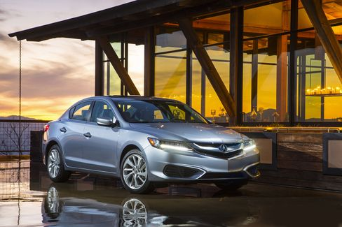 The Acura ILX has a 201-horsepower, four-cylinder engine with front-wheel drive.