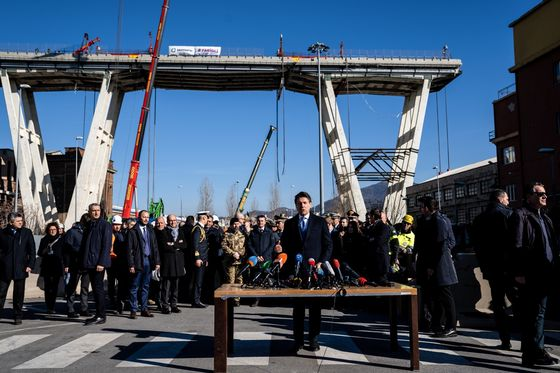 Genoa Slowly Takes Next Step in Moving On From Bridge Tragedy