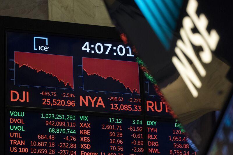 """Οι πρόεδροι των ΗΠΑ αντέχουν στις """"βουτιές"""" της αγοράς"""