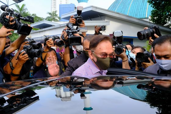 Malaysia's Anwar Gives Police Statement on List of Allegations