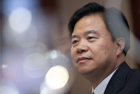 Cnooc Chairman Wang Yilin