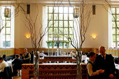 The dining room at Eleven Madison Park.