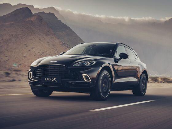 Aston Martin Revenue Tops Estimates as SUV Drives Volumes