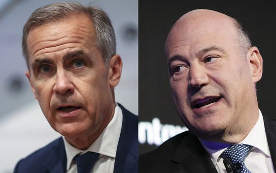 Carney Tells Cohn He's Wrong as Goldman Veterans Spar on Brexit