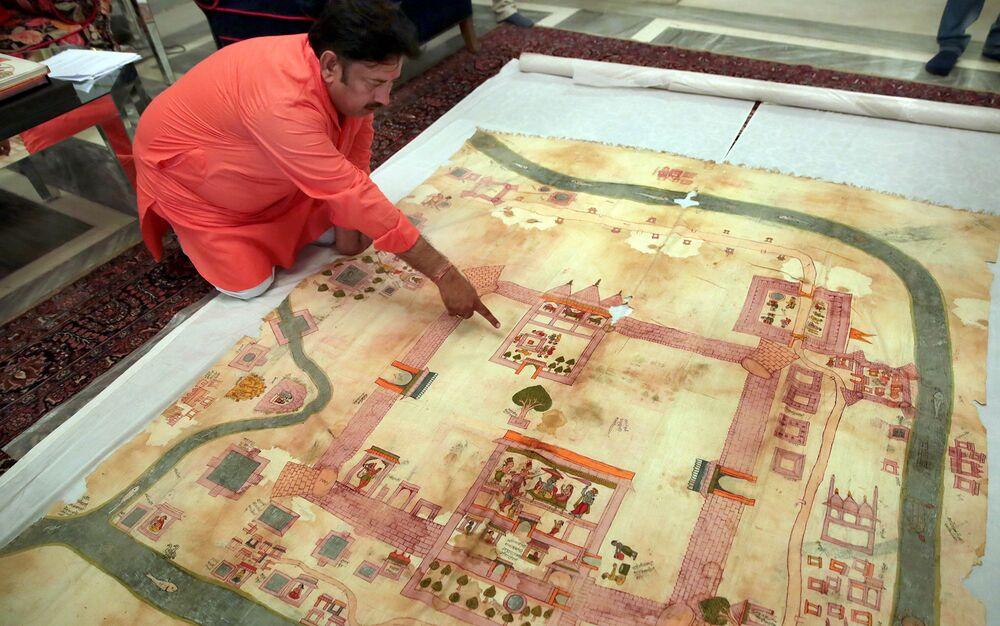 Image result for Ram Mandir Map