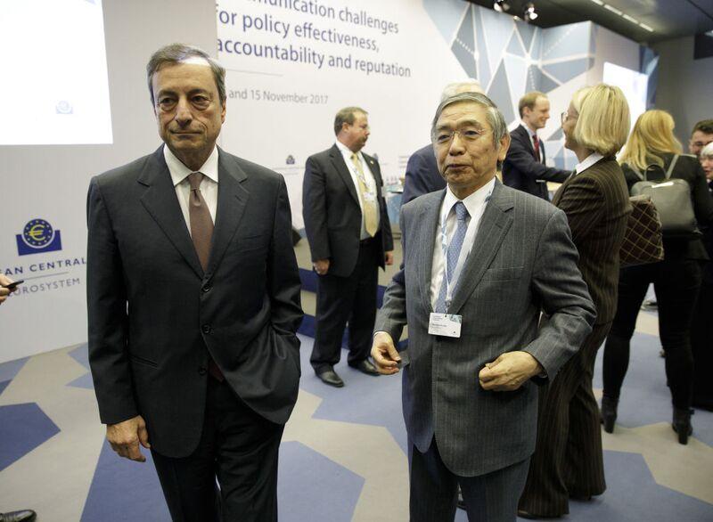 Τι θα κάνουν ΕΚΤ και BoJ αυτή την εβδομάδα