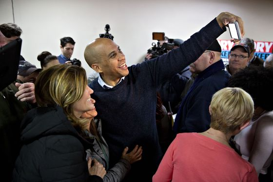 New Jersey's Booker Offers Obama Echoes in Iowa Campaign Debut