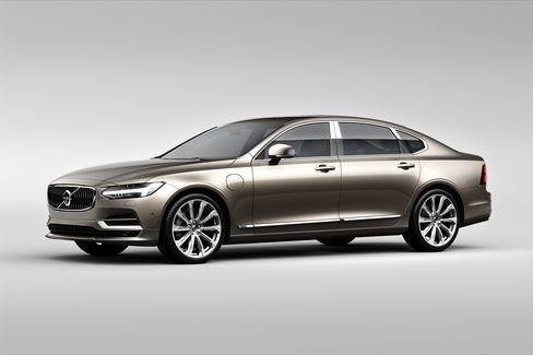 The Volvo S90 Excellence