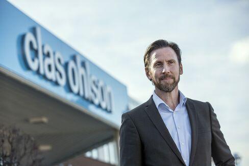 Clas Ohlson CEO Balkow