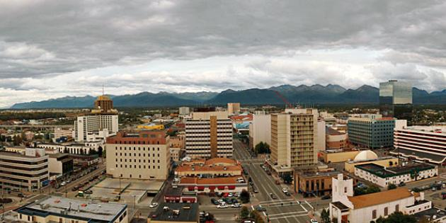Fastest-growing city in Alaska: Anchorage