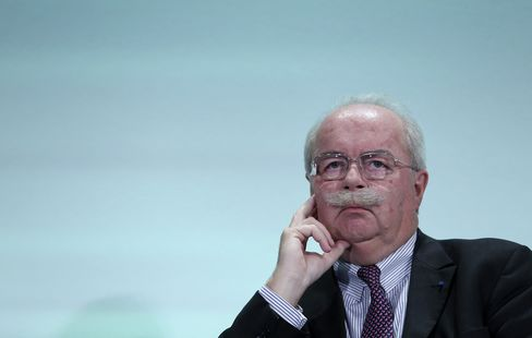 Total SA CEO Christophe de Margerie