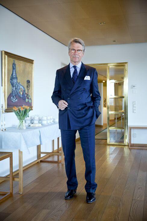 Nordea Bank Chairman Bjoern Wahlroos