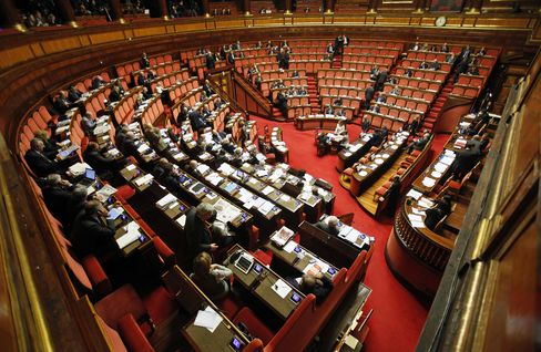 Italy Senate Approves Budget Measures