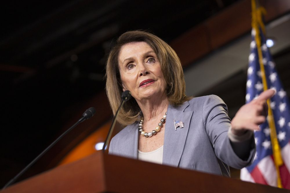 Pelosi Says Trump Needs Congress for Any Military Action on Iran