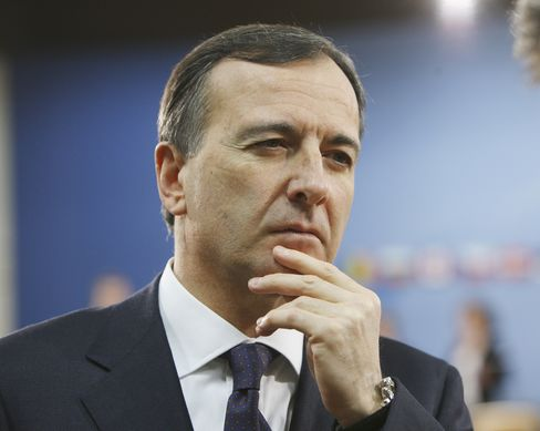 Franco Frattini, Italy's foreign minister