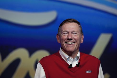 Ford Motor Co. Chief Executive Officer Alan Mulally