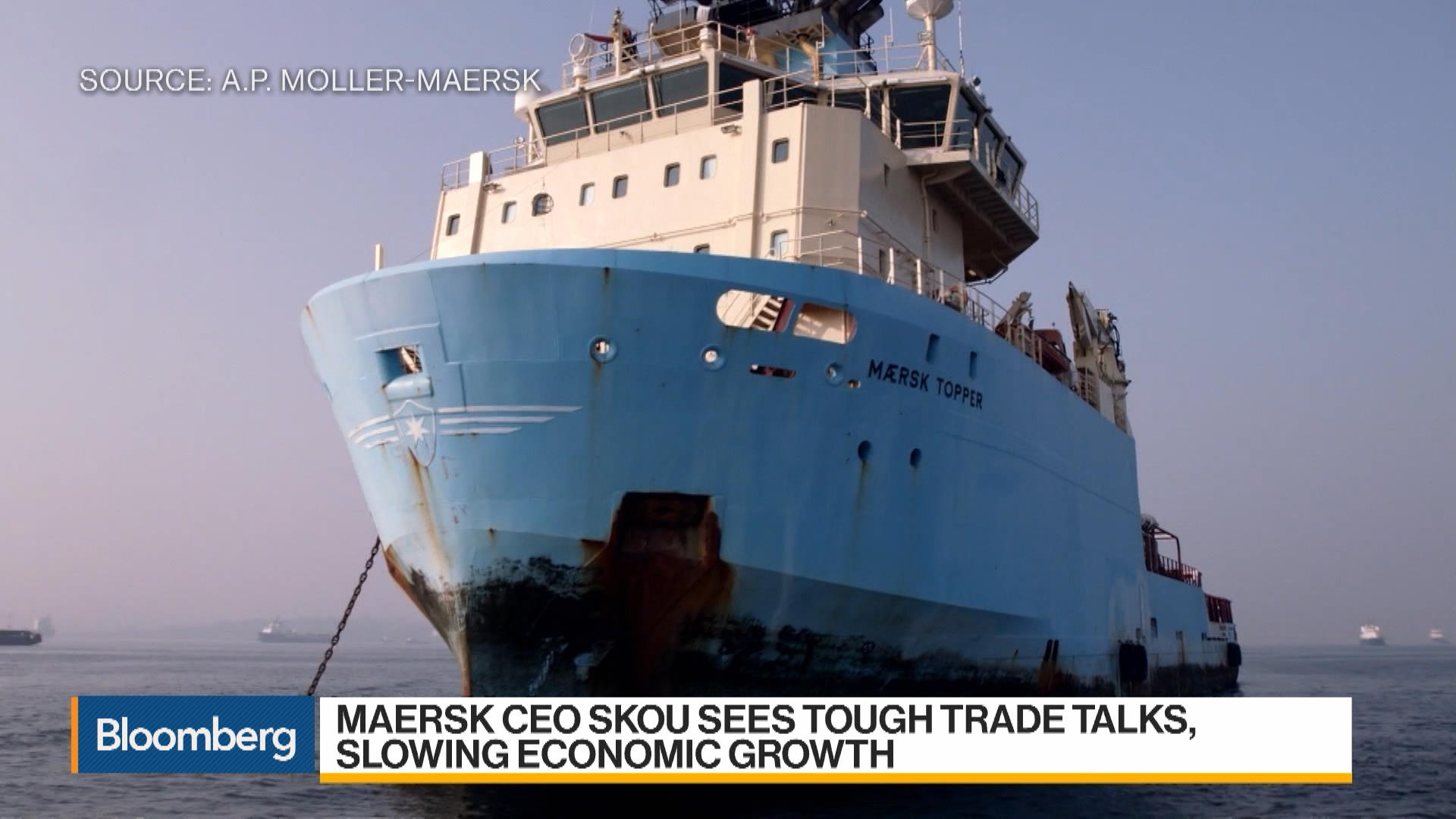 Maersk Expanding Portfolio of Services, COO Toft Says