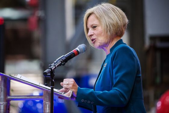 Alberta Premier Urges Federal Intervention on Crude-by-Rail