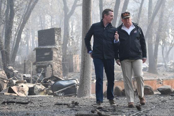 Trump Threatens to Halt Wildfire Aid to California Victims